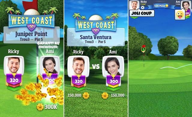 Golf Clash - meilleur jeu de golf pour iPhone