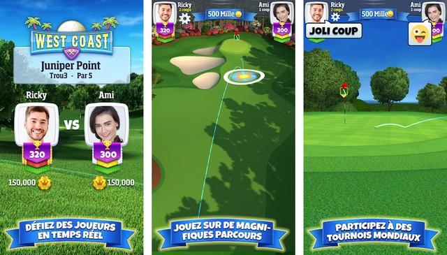 Golf Clash - meilleur jeu pour Android