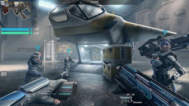Infinity Ops - meilleur jeu spatiaux sur Android