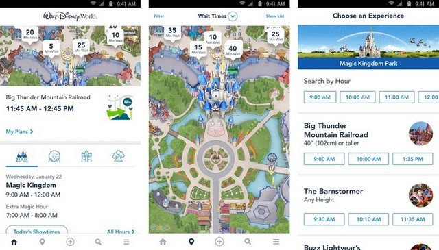 My Disney Experience - meilleur application pour Android
