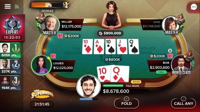 Poker Heat - meilleure jeu de poker sur Android