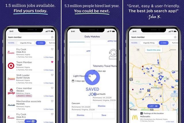 Snagajob - application de recherche emploi pour iPhone