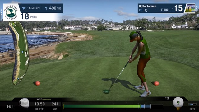 WGT Golf - meilleur jeu pour iPhone