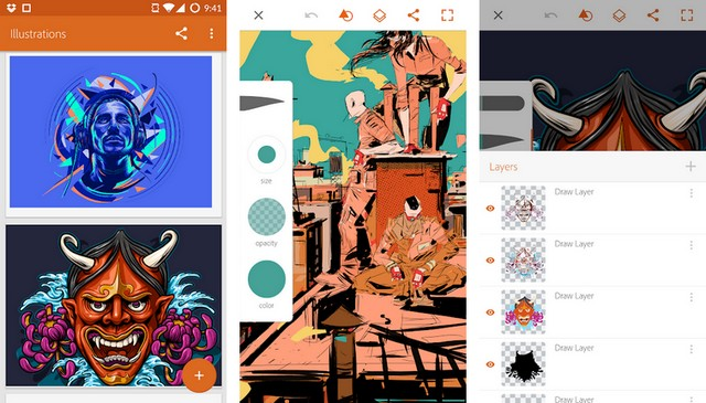 Adobe Illustrator - meilleure application de création de logo
