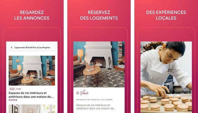 Airbnb - meilleure application pour réserver des hôtels