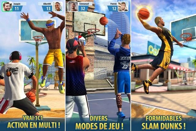 Basketball Stars - meilleur jeu pour iPhone