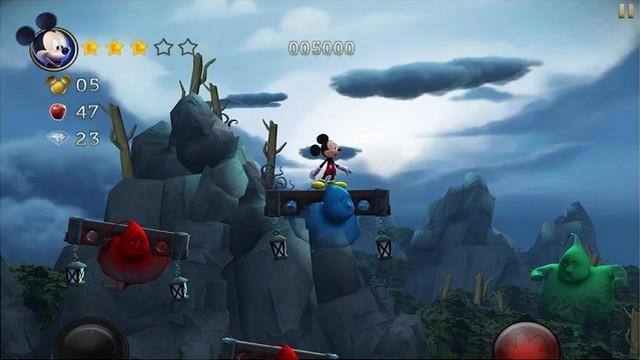 Castle of Illusion - meilleur jeux Disney