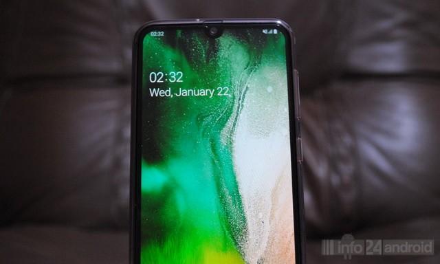 Comment changer le fond d'écran sur Samsung Galaxy A20