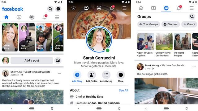 Facebook - meilleure application de réseaux sociaux