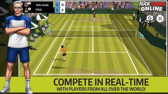Flick Tennis Online
