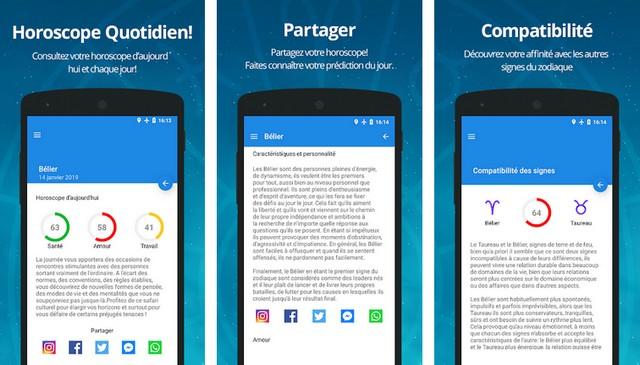Horoscope du Jour Gratuit - meilleures applications pour Android