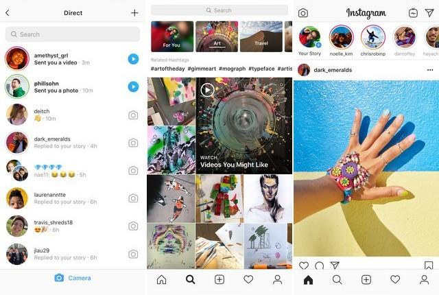 Instagram - application de réseaux sociaux pour iPhone