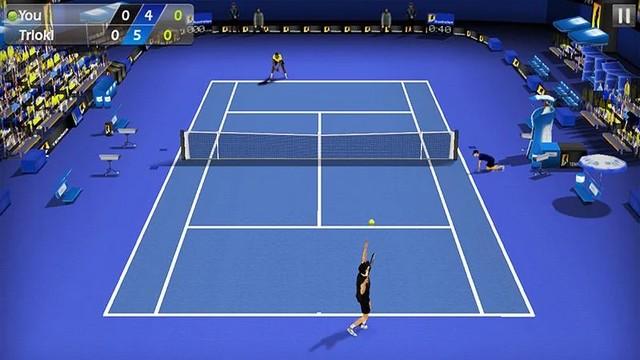 Le tennis chiquenaudé 3D - meilleur jeu de tennis pour Android