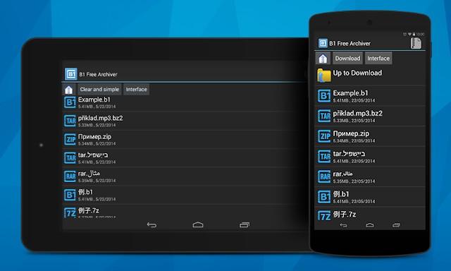 Les meilleures applications de décompression pour Android