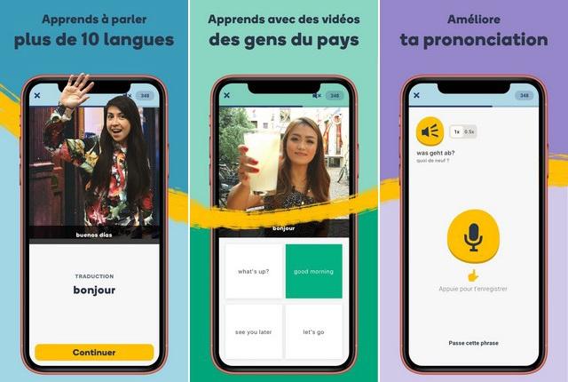Memrise - apprendre des langues