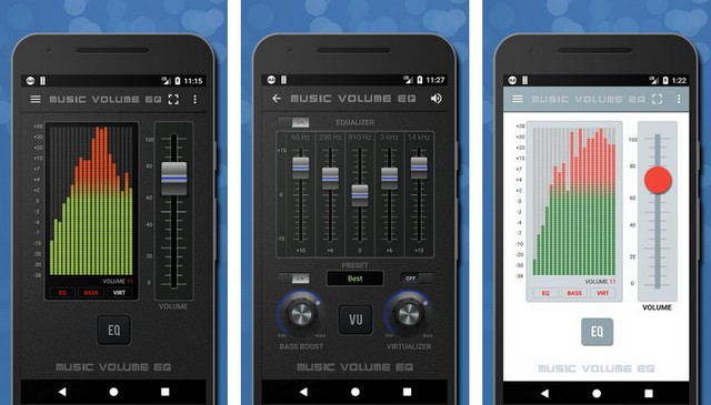 Music Volume EQ