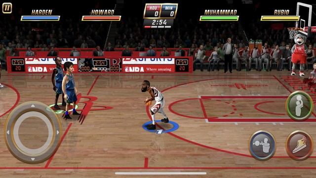 NBA JAM by EA SPORTS - meilleur jeu de basketball pour iPhone