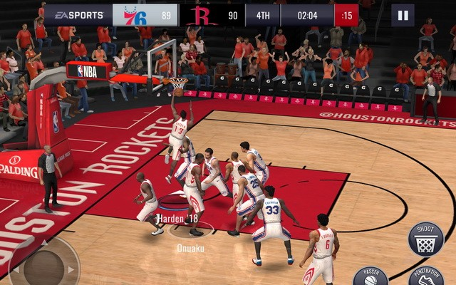 NBA LIVE Mobile Basketball - meilleur jeu pour iPhone