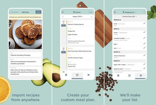 Plan to Eat - application de planification de repas