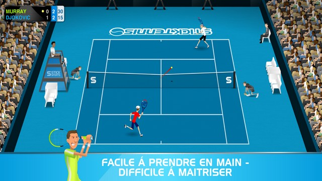 Stick Tennis pour iPhone