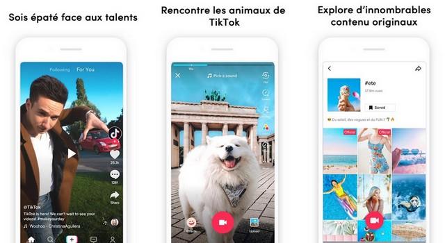 TikTok - meilleure application de réseaux sociaux