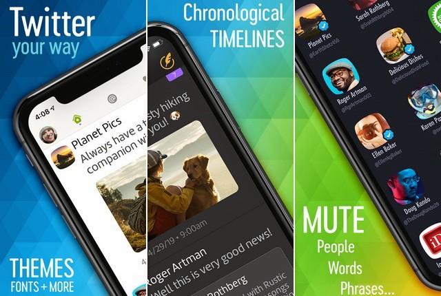 Twitterrific - meilleur client Twitter pour iPhone