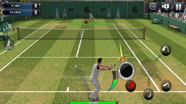 Ultimate Tennis pour iPhone