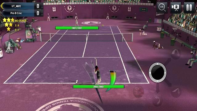 Ultimate Tennis - meilleur jeu de tennis pour Android