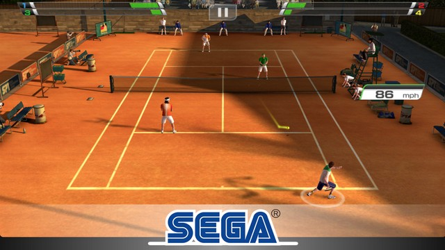 Virtua Tennis Challenge pour iPhone