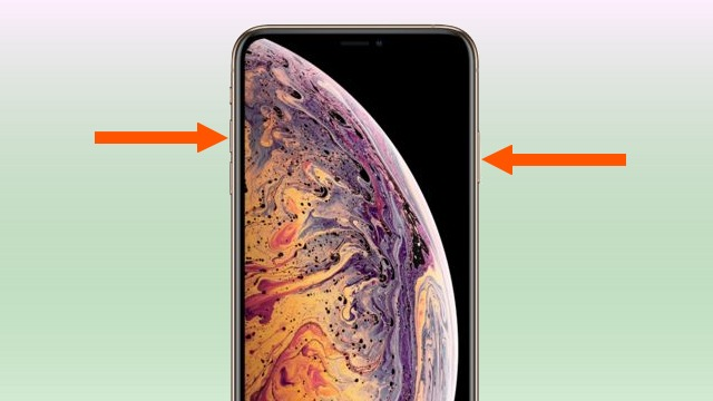 capture écran sur iPhone XS Max
