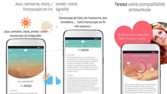iHoroscope - meilleures applications horoscope pour Android