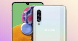 Comment afficher le pourcentage de batterie sur Galaxy A90