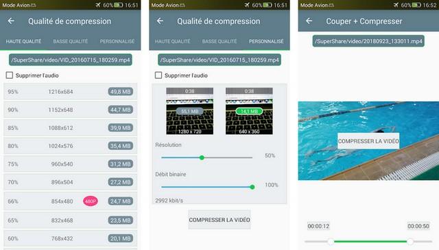 Compresseur vidéo - meilleur compresseur vidéo pour Android