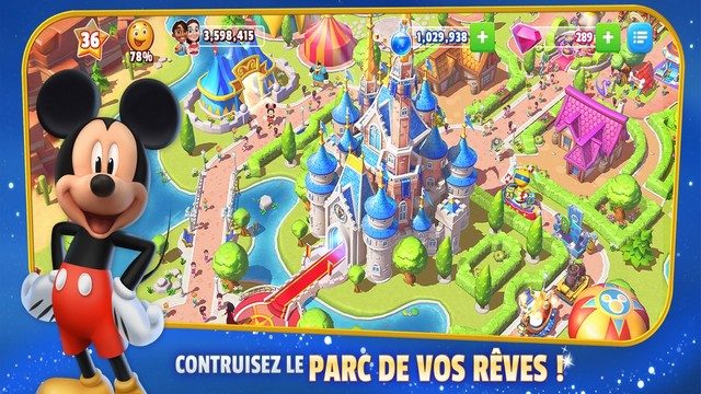 Disney Magic Kingdoms - meilleur jeu pour iPhone