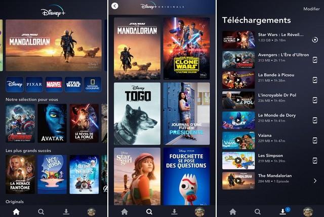 Disney+ meilleure application Disney pour iPhone
