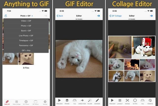 GIF Toaster - le meilleure application de création des GIF