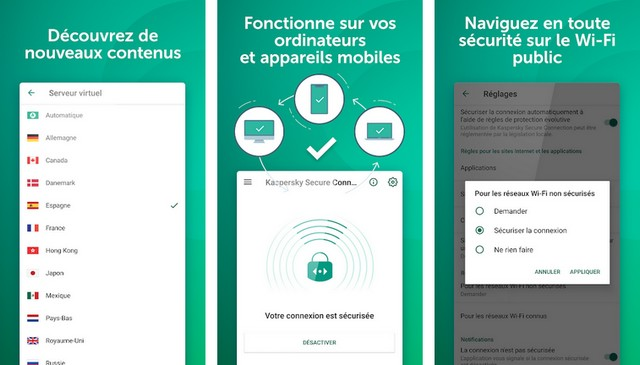 Kaspersky VPN - le meilleure alternative à Turbo VPN