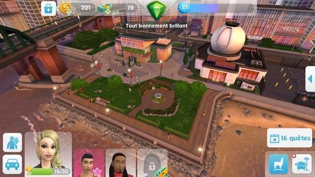 Les Sims Mobile - meilleur jeu de simulation de vie