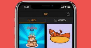 Les meilleures applications de création des GIF pour iPhone
