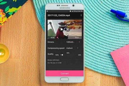 Les meilleurs compresseurs vidéo pour Android