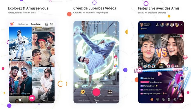 Likee - Le meilleure application comme TikTok