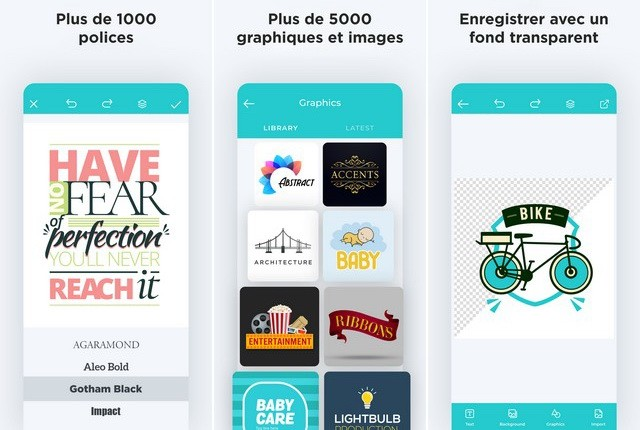 Logo Maker - application de création de logo