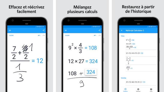 MyScript Calculator 2