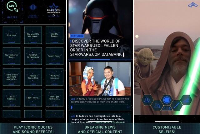 Star Wars - meilleure application Disney pour iPhone