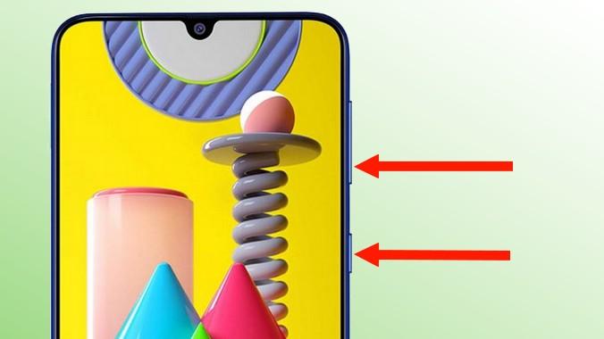 capture écran sur Samsung Galaxy M31
