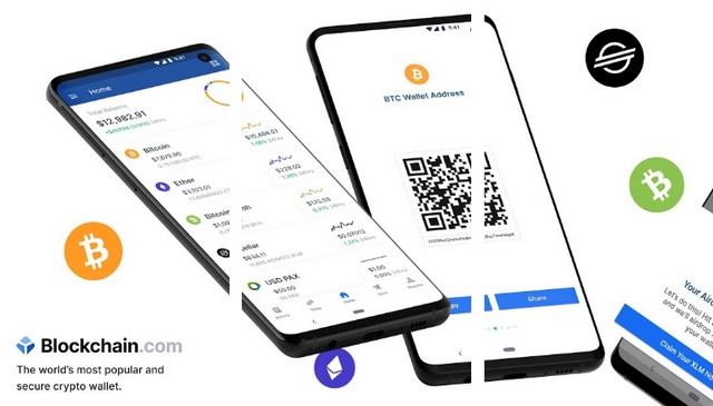 Blockchain Wallet - meilleure application de cryptomonnaie