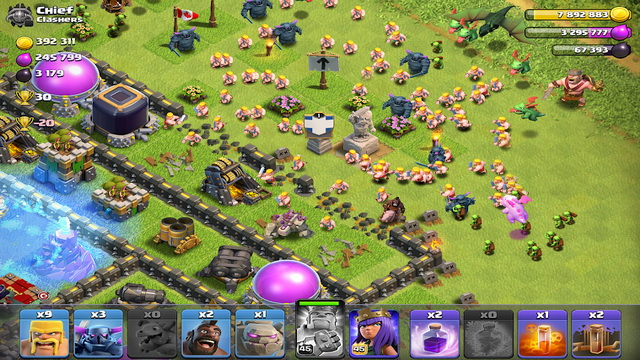 Clash of Clans - most addicting game