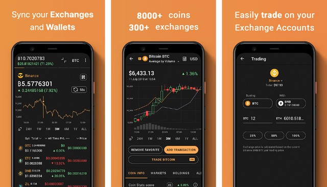 Coin Stats - meilleure application de cryptomonnaie