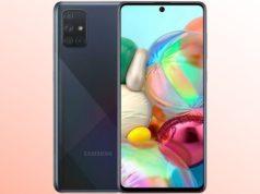 Comment faire une capture d'écran sur Samsung Galaxy A71