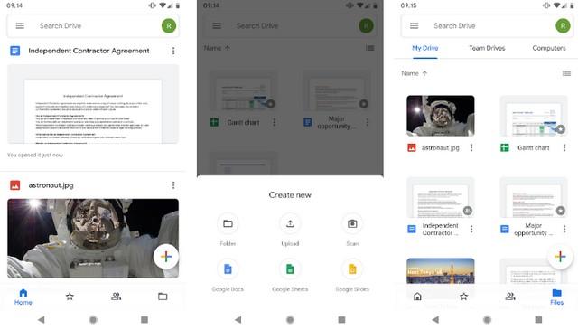 Google Drive - application de productivité